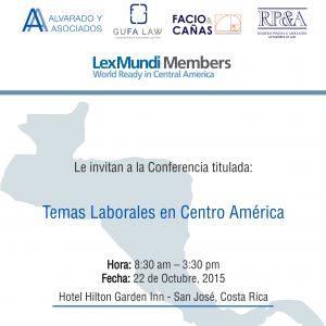 INVITACIÓN A SEMINARIO: COSTA RICA/ ROMERO PINEDA & ASOCIADOS