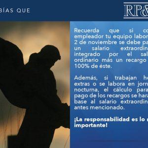 2 de Noviembre Asueto Nacional en El Salvador