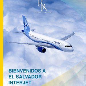 INTERJET INICIA OPERACIONES EN EL SALVADOR