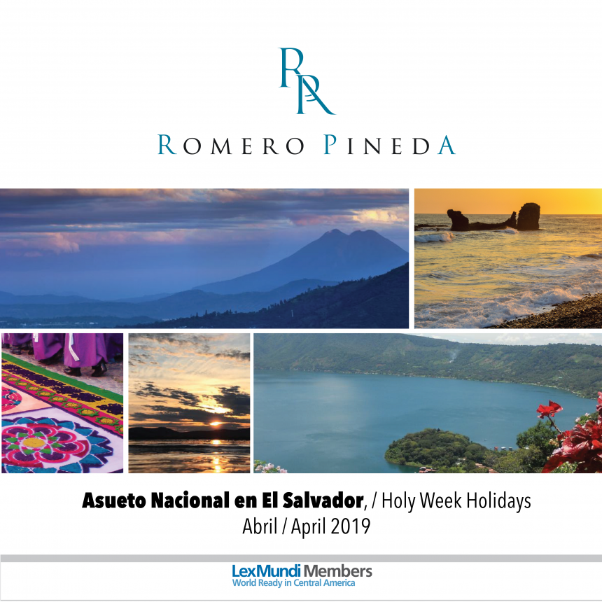 Upcoming National Holidays in El Salvador in April 2019.